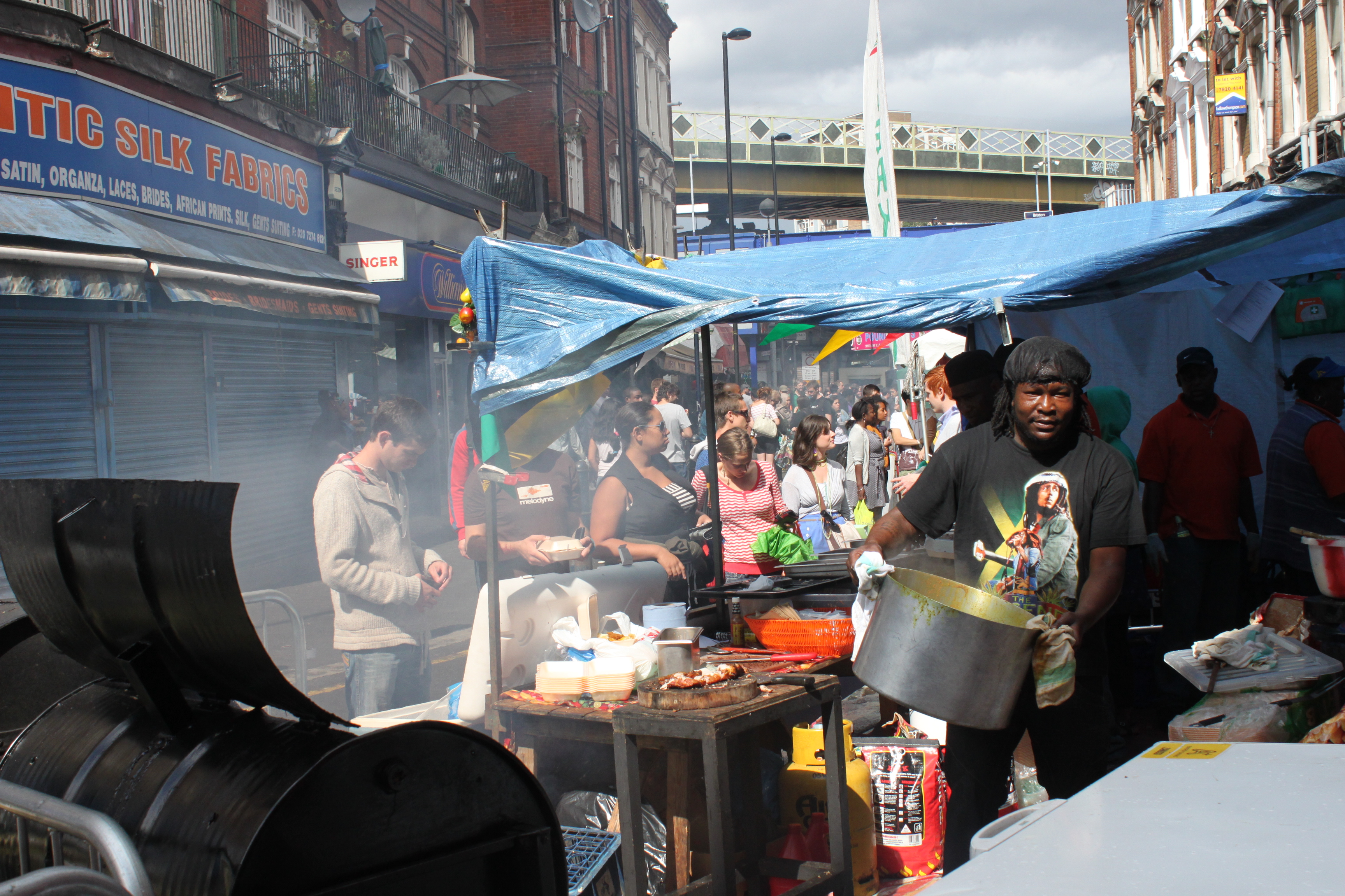 Still selling Caribbean food